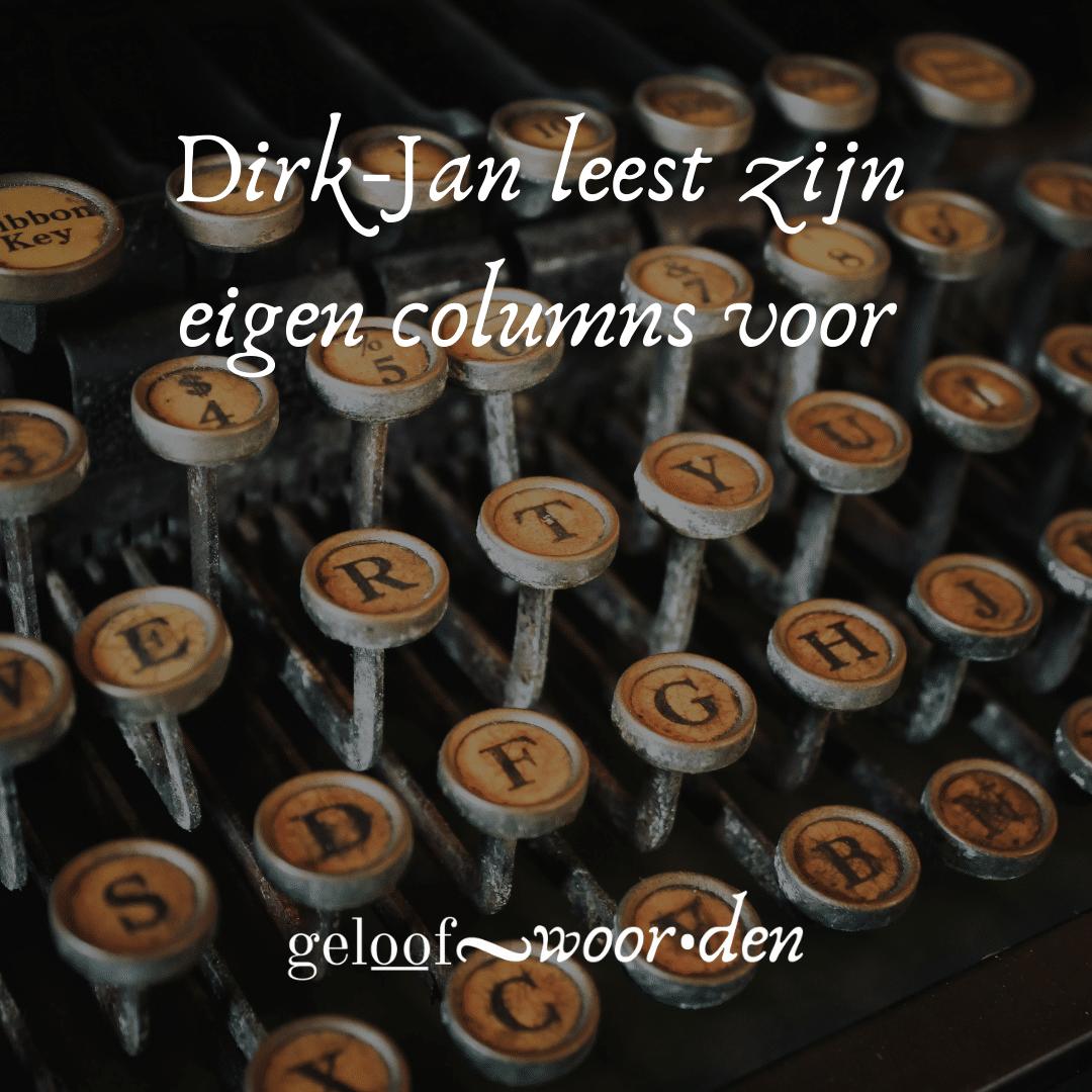 Dirk-Jan leest zijn eigen columns voor (2)